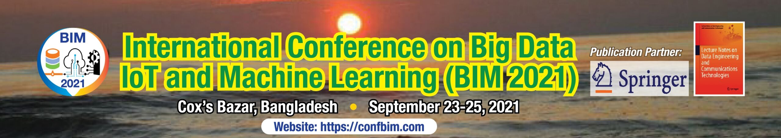 Conference on Big data IoT and Machine learning Logo